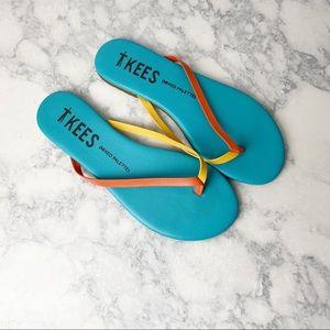 TKEES Mixed Palette Skyburst Flip Flop Sandals